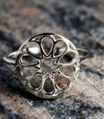 Seed Of Life Ornate Ring.