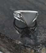 Grey Moonstone Divine Ring.