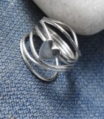 Wire Wrapped Celtic Heart Ring.